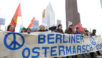 Auch in Berlin fand ein Ostermarsch statt