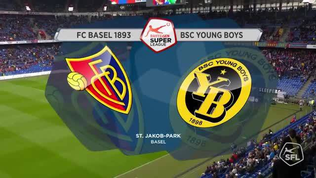 Super League, 2017/18, 34. Runde, FC Basel - BSC Young Boys, Highlights