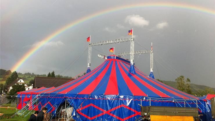 Vielleicht wartet am Ende des Regenbogens ein neues Winterquartier.zvg