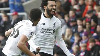 Mohamed Salah präsentiert sich für Liverpool einmal mehr als Matchwinner