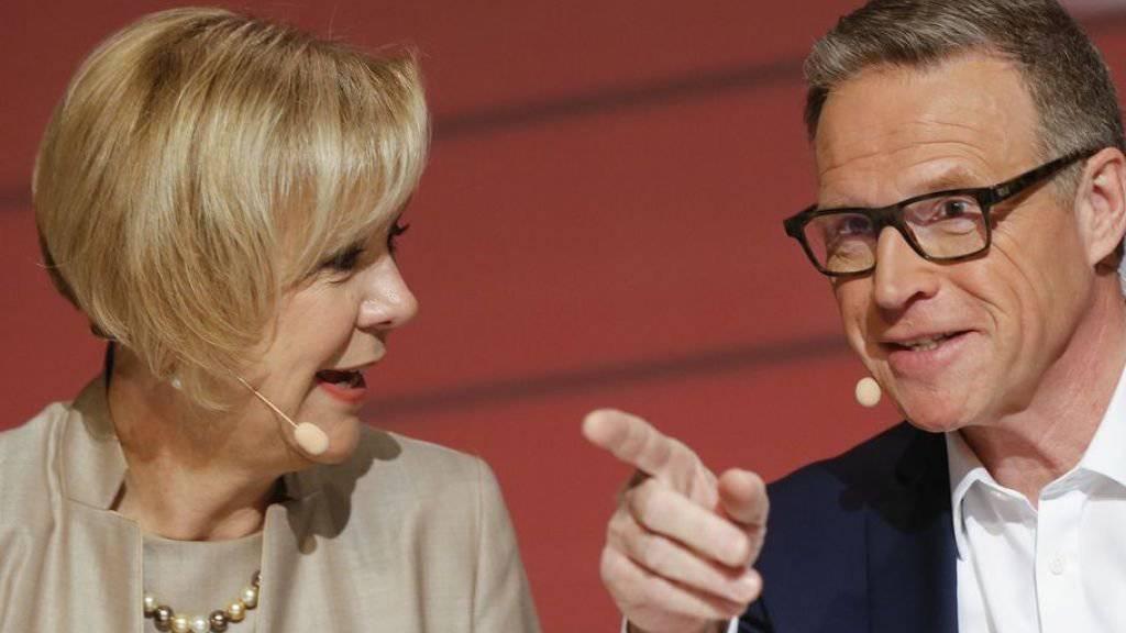 Blicken auf ein «emotionales» und erfolgreiches Jahr zurück: CEO Andreas Meyer und Verwaltungsratspräsidentin Monika Ribar.