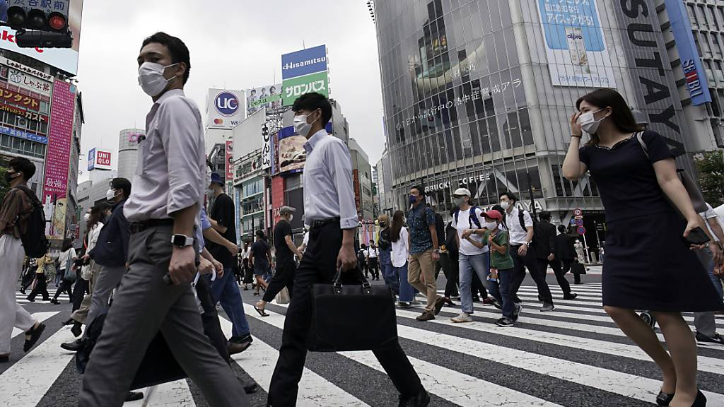 Japan verzeichnet Höchstwert an neuen Coronainfektionen