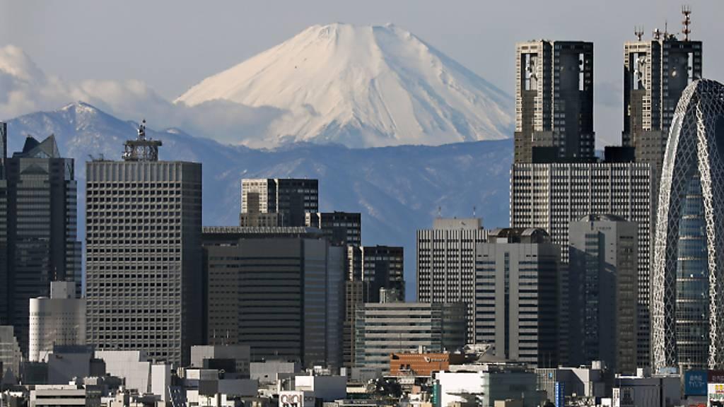 Japans Wirtschaft in geringerer Rezession als gedacht