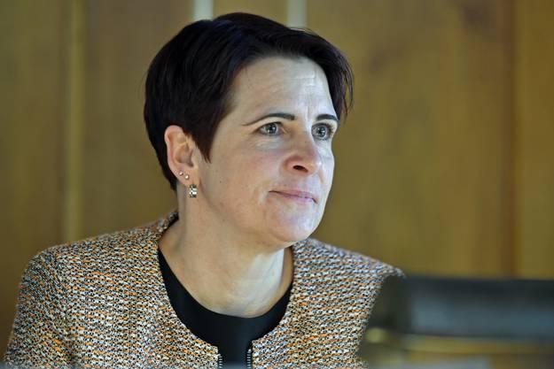 Yvonne Bürgin (CVP, Rüti) wird als neue Präsidentin des Kantonsrats gewählt.
