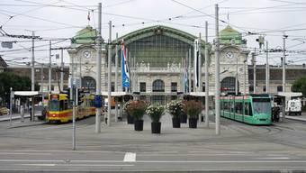 Der Bahnhof SBB in Basel