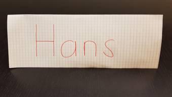 Ein Leben als Hans ist nicht einfach, sagt Hans Fahrländer.