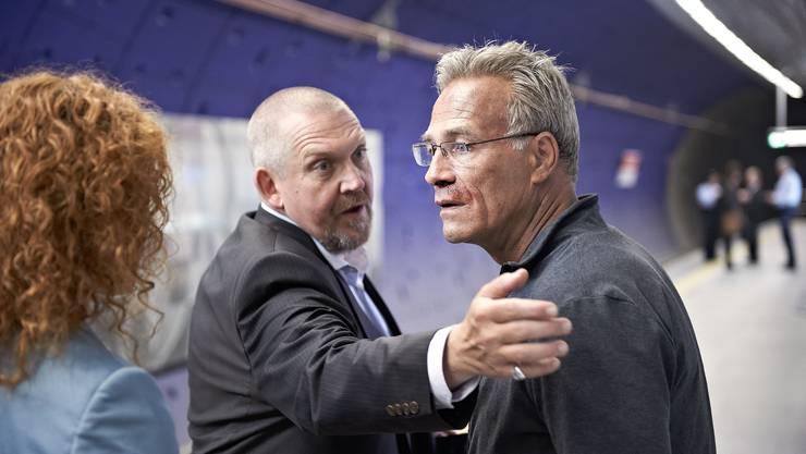Freddy Schenk (Dietmar Bär) und Max Ballauf. (Klaus J. Behrendt).