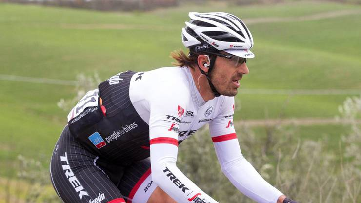 Fabian Cancellara startet am GP von Gippingen.