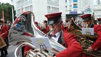 Solothurner Vereine am Eidgenössischen Musikfest in Montreux