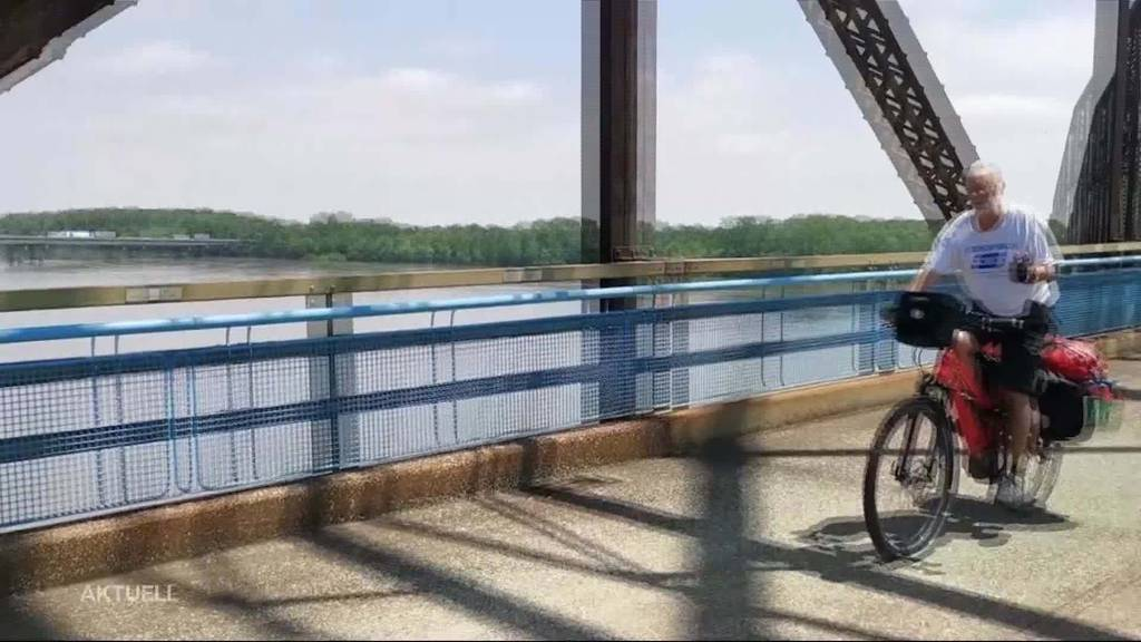 Route 66 by E-Bike: Roli Grädel erfüllt sich einen Lebenstraum