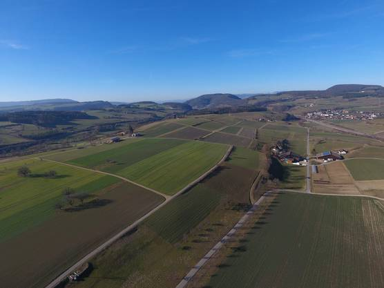 """Zeihen im Fricktal... Aufgenommen mit der Drohne """"Phantom 4"""" am Sonntag, 17.02.2019"""