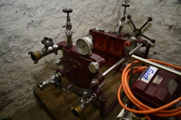 Geräte zur Weinverarbeitung