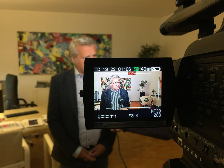Martin Schönenberger im Interview mit TVO.   © FM1Today