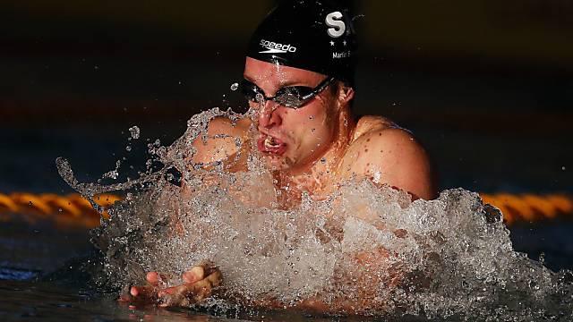 Martin Schweizer war der Schnellste über 50 m Brust