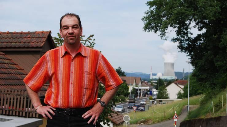 Gemeindeammann Rolf Häusler befürwortet Kernenergie.  SH