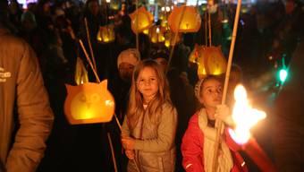 Grenchner Kürbisnacht: Ein Volksfest ganz in Orange