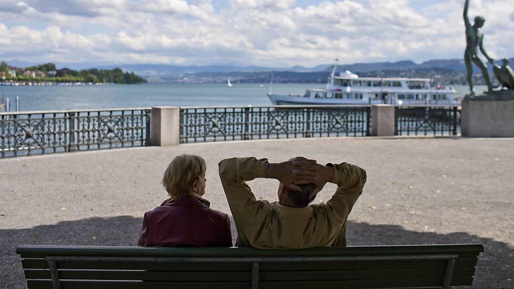 Ab wann in Rente? Die bürgerlichen Jungparteien sind wegen einer Initiative am Streiten. (Symbolbild)