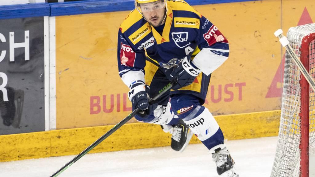 KHL-Ausstiegsklausel nicht gezogen: Jan Kovar bleibt beim EVZ