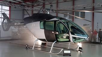 Mit zusätzlichem Kapital und neuer Technik die Konkurrenz herausfordern: Das Ingenieur- und Konstruktionsunternehmen Marenco Swisshelicopter sucht weitere Geldgeber. (Archivbild des Prototyps)