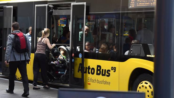 Zumindest ein Teil der Busfahrer sind mit den Arbeitsbedingungen unzufrieden.