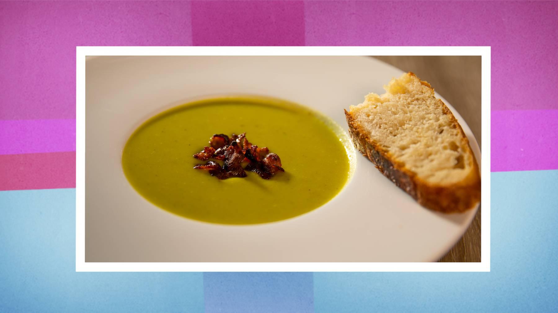 Wirz-Suppe mit selbstgebackenem Brot