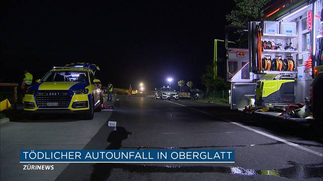 Tödlicher Autounfall in Oberglatt