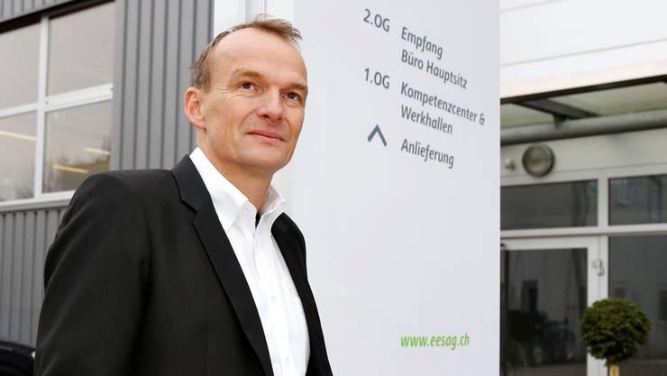 Firmengründer Thomas Jäggi bleibt auch unter der neuen Muttergesellschaft Geschäftsführer und Verwaltungsrat der EES. Hanspeter Bärtschi