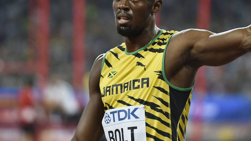 Bestritt in Peking sein letztes Saisonrennen: Usain Bolt