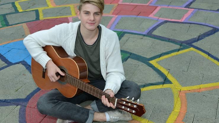 Vincent Gross macht im Sommer im Gymnasium Bäumlihof seine Matur.Im Moment aber hat er nur seine Musik im Kopf.
