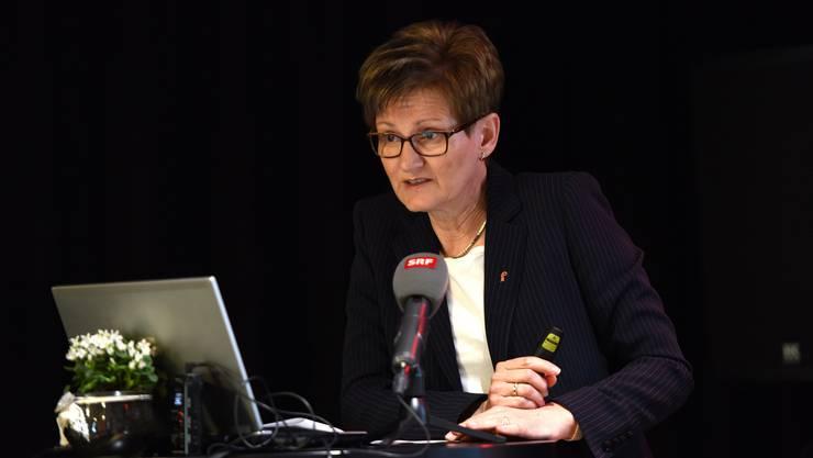 Seitenhiebe via Communiqué: Zwischen Anton Lauber (CVP) und Sabine Pegoraro (FDP) herrscht dicke Luft.