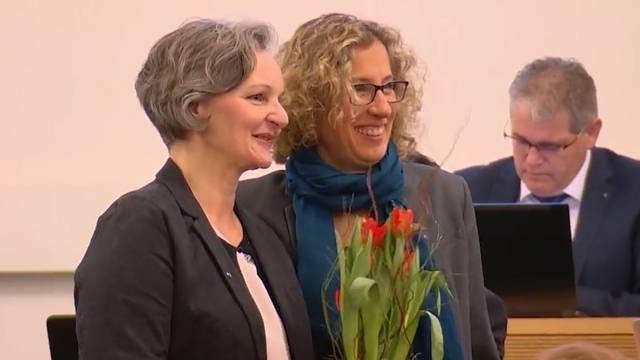 Renata Siegrist-Bachmann (GLP) ist 2019 neu die höchste Aargauerin