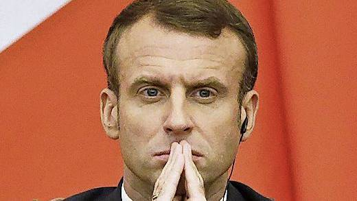 Fordert besseren Lohnschutz in der EU: Frankreichs Präsident Macron.