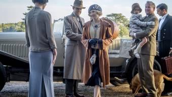 """Von 2010 bis 2015 eine TV-Serie, jetzt als Film im Kino: Das britische Historiendrama """"Downton Abbey"""". (Szenenbild)"""