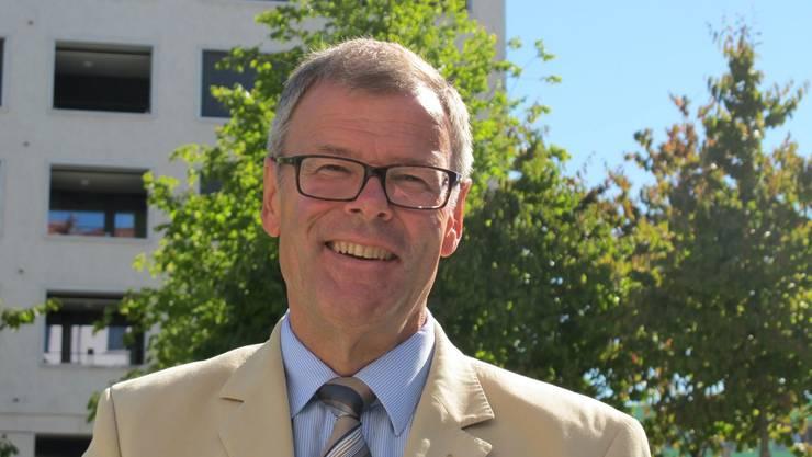 Otto Müller (FDP) strebt 2014 seine dritte Amtszeit als Stadtpräsident von Dietikon an.