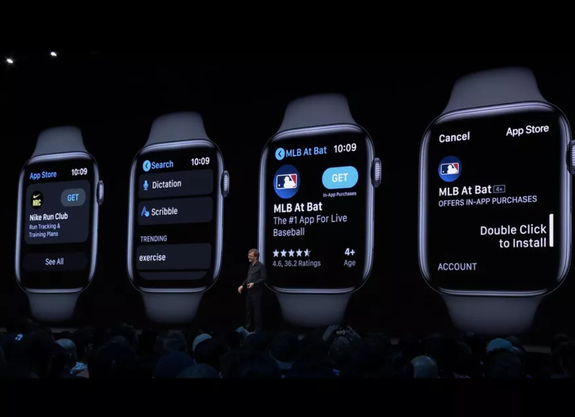 Kevin Lynch, der Apple-Watch-Chef, mit Einblicken in den neusten App-Store.