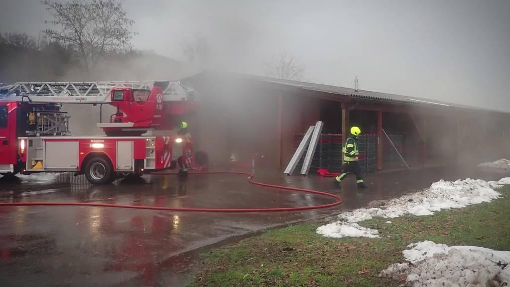 Kurznachrichten: Brand, Verletzt, Spatenstich Wattwil