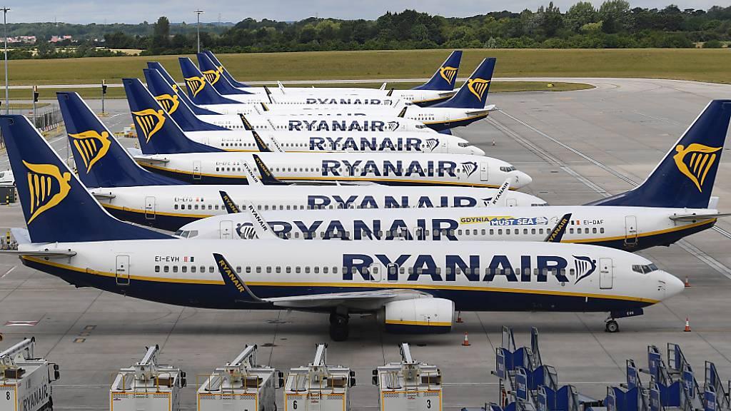 Ryanair rechnet mit fast einer Milliarde Euro Verlust
