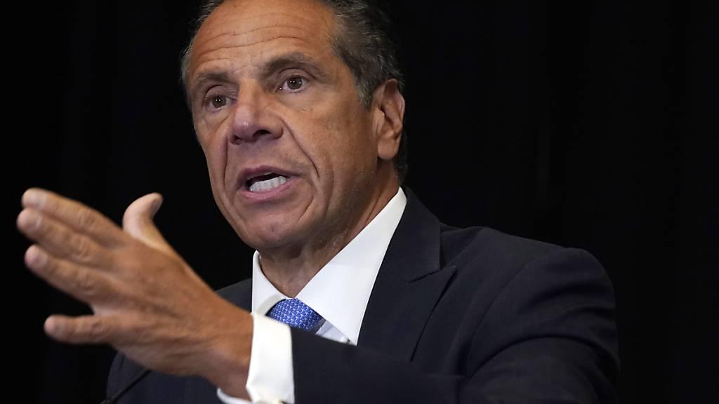 Untersuchung: New Yorks Gouverneur Cuomo hat Frauen sexuell belästigt