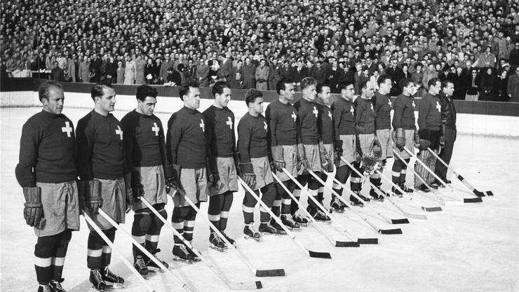 Im Sportmuseum entdeckt (19): Die Schweizer konnten in London ihren vierten Europameistertitel feiern.
