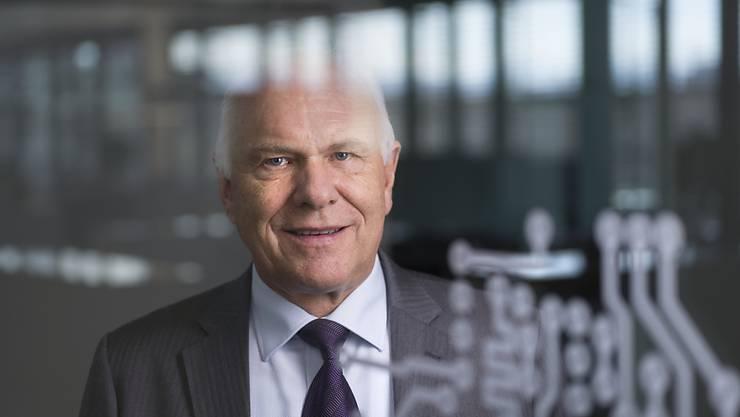 """""""Eine bessere Lösung ist nicht in Sicht"""": Hans Hess, Präsident des Verbands Swissmem der Schweizer Maschinen-, Elektro- und Metall-Industrie, zum ausgehandelten Rahmenabkommen zwischen der Schweiz und der EU."""
