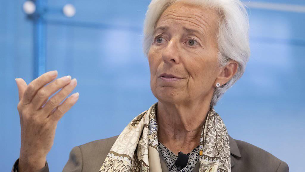 Die IWF-Chefin Christine Lagarde ist von den Euro-Finanzministern als neue Präsidentin der Europäischen Zentralbank nominiert worden. Die EZB hat nichts gegen ihre neue Chefin einzuwenden. (Archivbild)