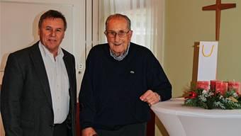 Robert Waldmeier feierte gestern seinen 100. Geburtstag in Möhlin.