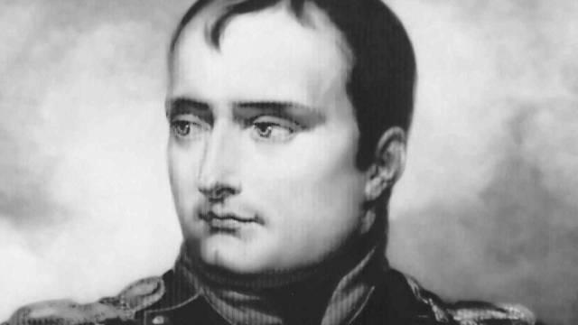 Porträt von Napoleon, gemalt 1815 von Horace Vernet (Archiv)