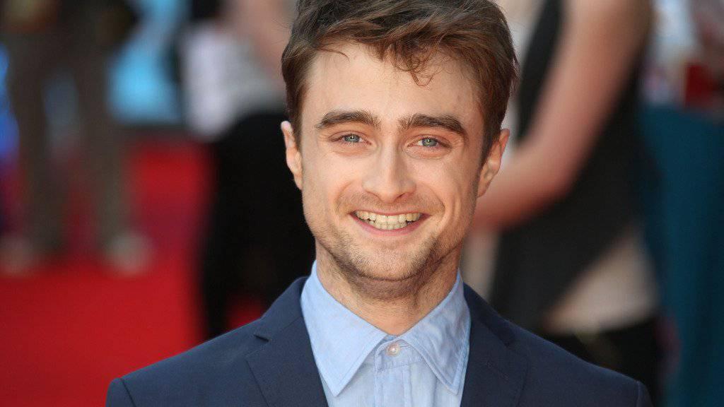 So berühmt wie Donald Trump ist Daniel Radcliffe schon lange: Trotzdem ist der «Harry Potter»-Darsteller um Welten bescheidener als der US-Präsidentschaftskandidat. (Archiv)