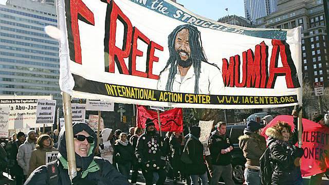 Kundgebung für Abu-Jamal (Archiv)