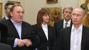 Obelix Gérard Depardieu wird ein Russe
