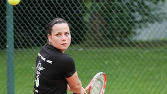 Nathalie Zeoli hat sich die WM-Goldmedaille gesichert.