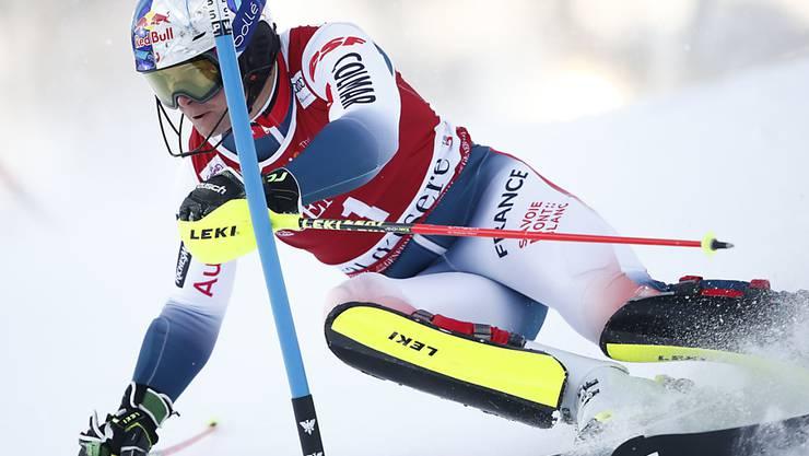 Alexis Pinturault legt in Val d'Isère mit Laufbestzeit vor