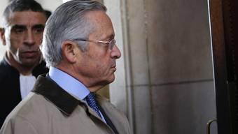 Guy Wildenstein am Montag bei der Ankunft vor Gericht in Paris.