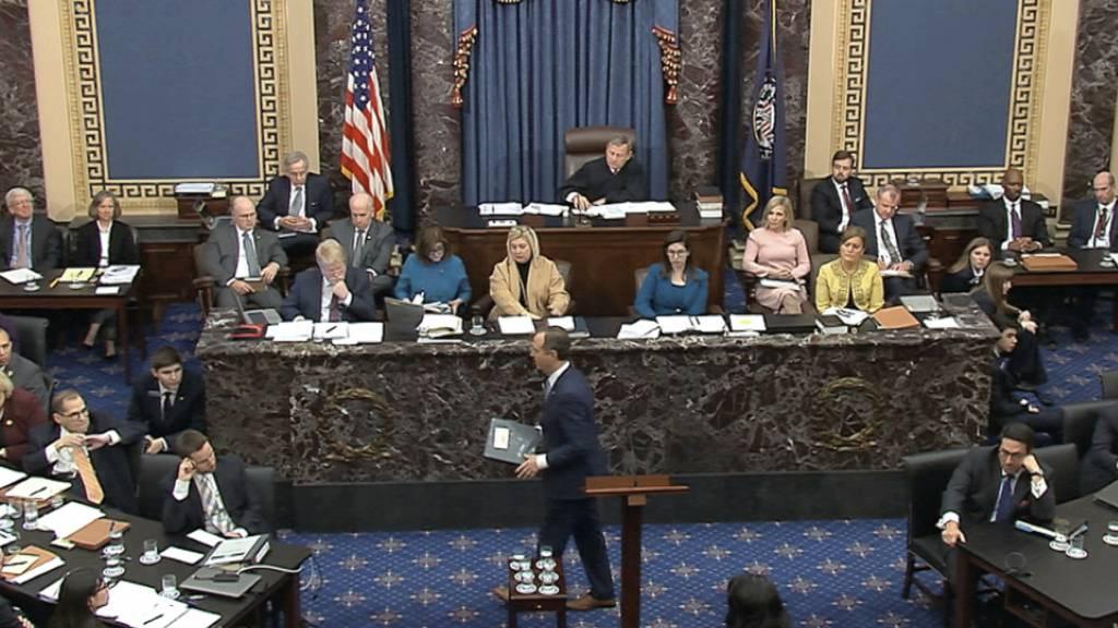 Demokraten warnen im Impeachment-Verfahren vor Trump